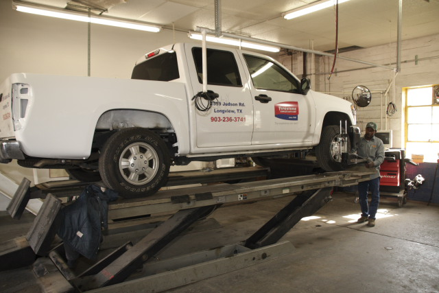 John Bean Truck 4 Wheel alignment